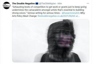 Double Negative masthead
